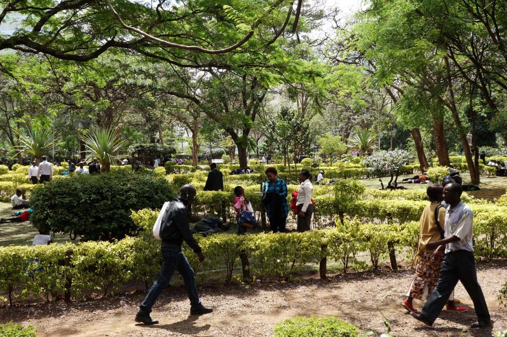 Kenya / Nairobi / Jeevanjee Gardens