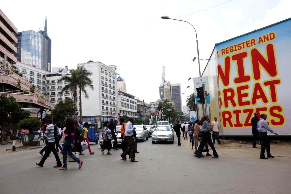 Kenya / Nairobi / Downtown