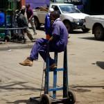 Kenya / Nairobi / Baggage Porter