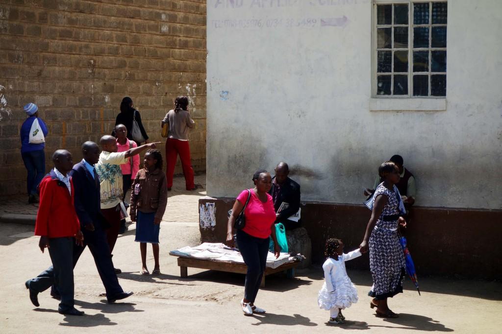 Kenya / Nairobi / Newspaper Vendor
