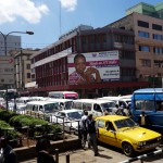 Kenya / Nairobi / Downtown Traffic Jam
