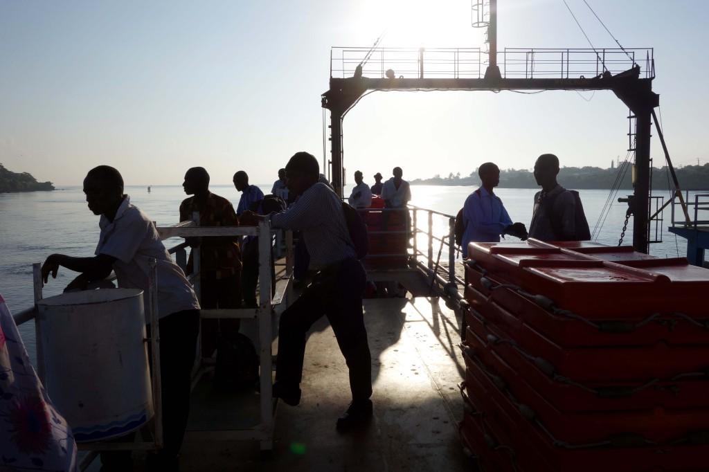 Kenya / Mombasa / Ferry